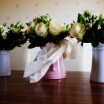 Wedding flowers by Somerset wedding photographer