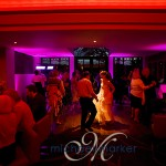 Bride dancing at Bovey Castle wedding in Devon