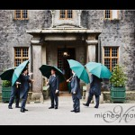 Groom and ushers at Hotel Endsleigh wedding