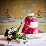 Bovey Castle Wedding cake in Edwardian Grill