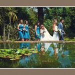 Dorset wedding bridal party