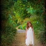 Dorset wedding fairy bridesmaid