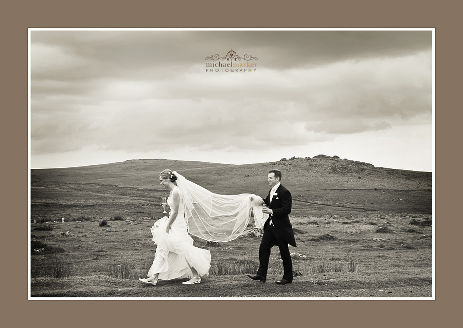 Two Bridges wedding Dartmoor