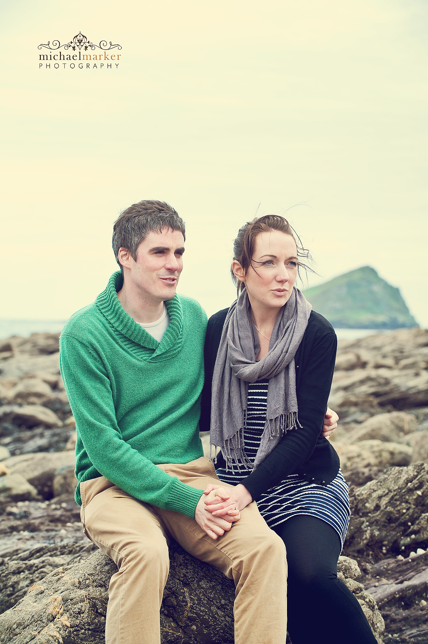 Wembury-beach-engagement-Plymouth