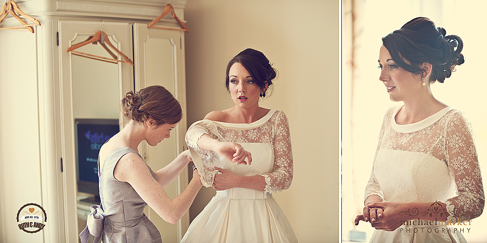 Devon-bride-getting-ready