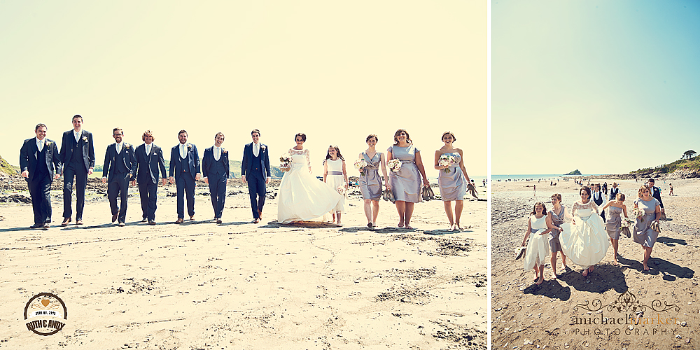 Fun-Devon-beach-wedding