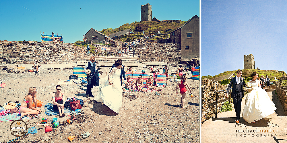 Wembury-wedding-on-the-beach