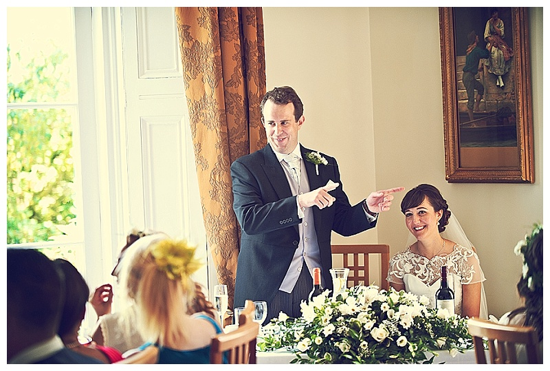 Devon wedding speeches at Bideford