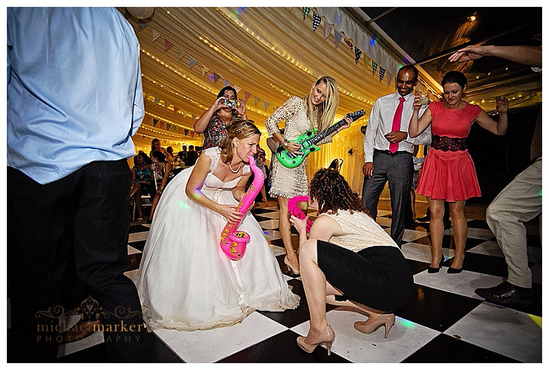 Great bridal dance at Devon wedding