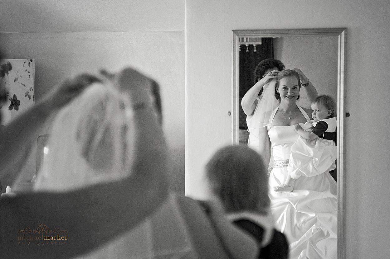 Bride-and-veil-North-Devon