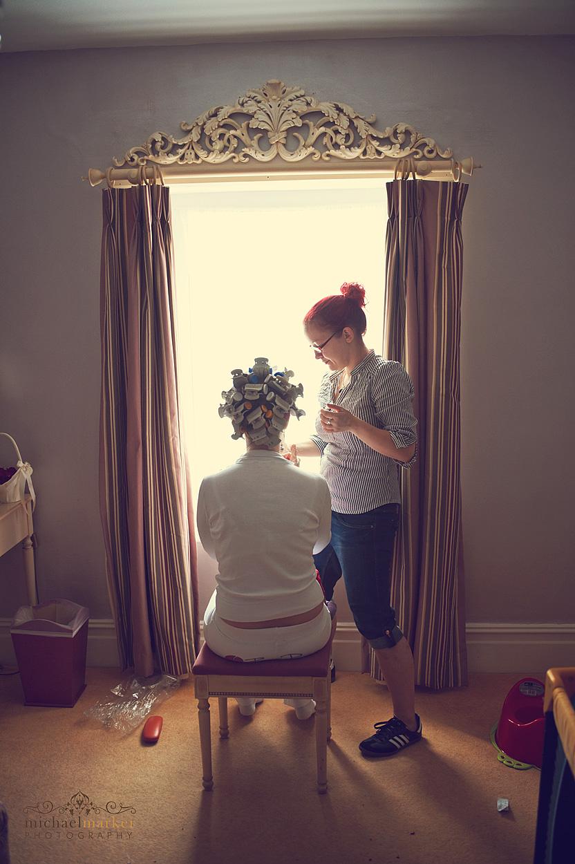 Bride-getting-ready-in-Devon