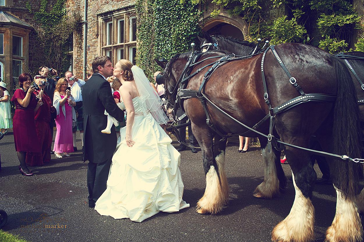 North-Devon-wedding-carriage