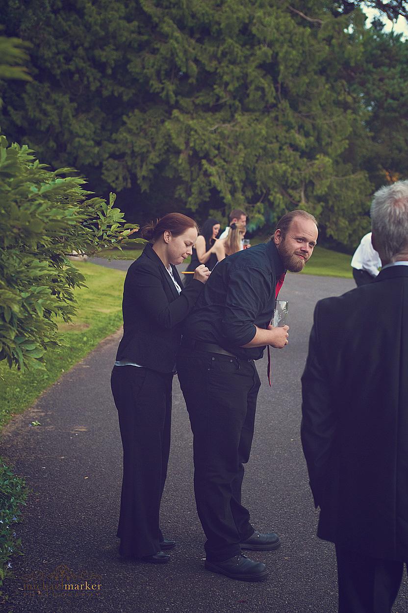Wedding-guests-having-fun-in-Devon