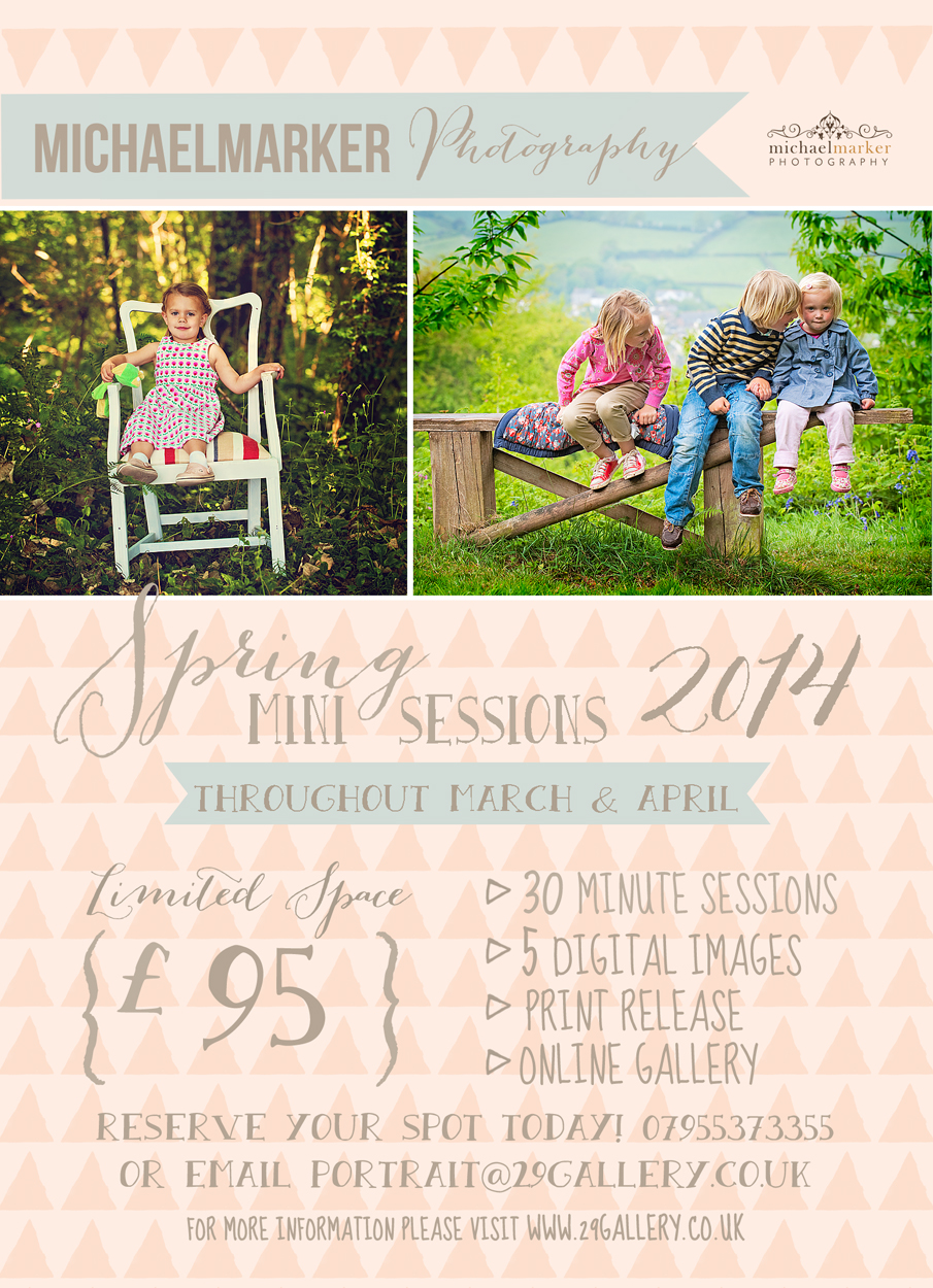 Family portrait photography offer for Devon and Cornwall