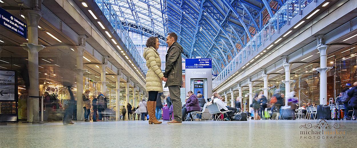 St-Pancras-station-engagement-photography-London