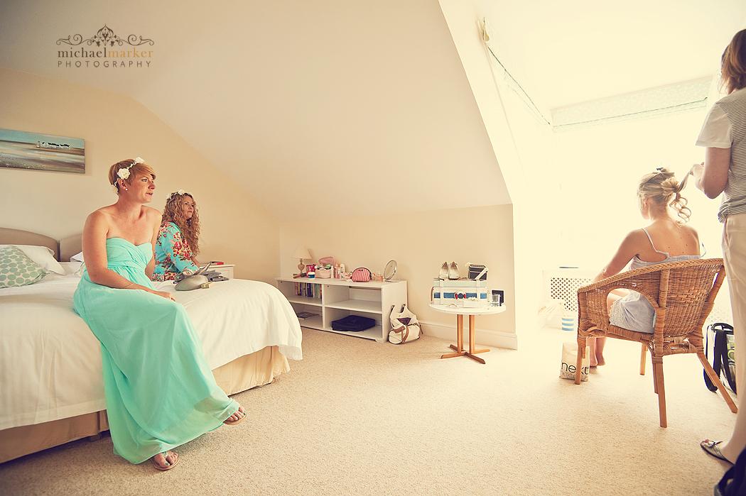 Bridal-prep-Cornish-wedding