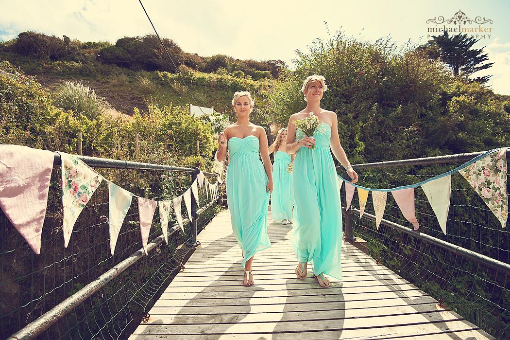 Bridesmaids-entrance