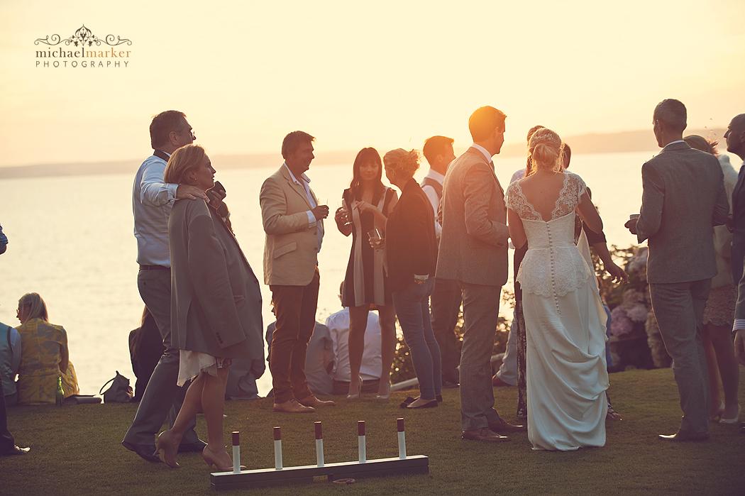 Cornish-seaside-wedding-sunset