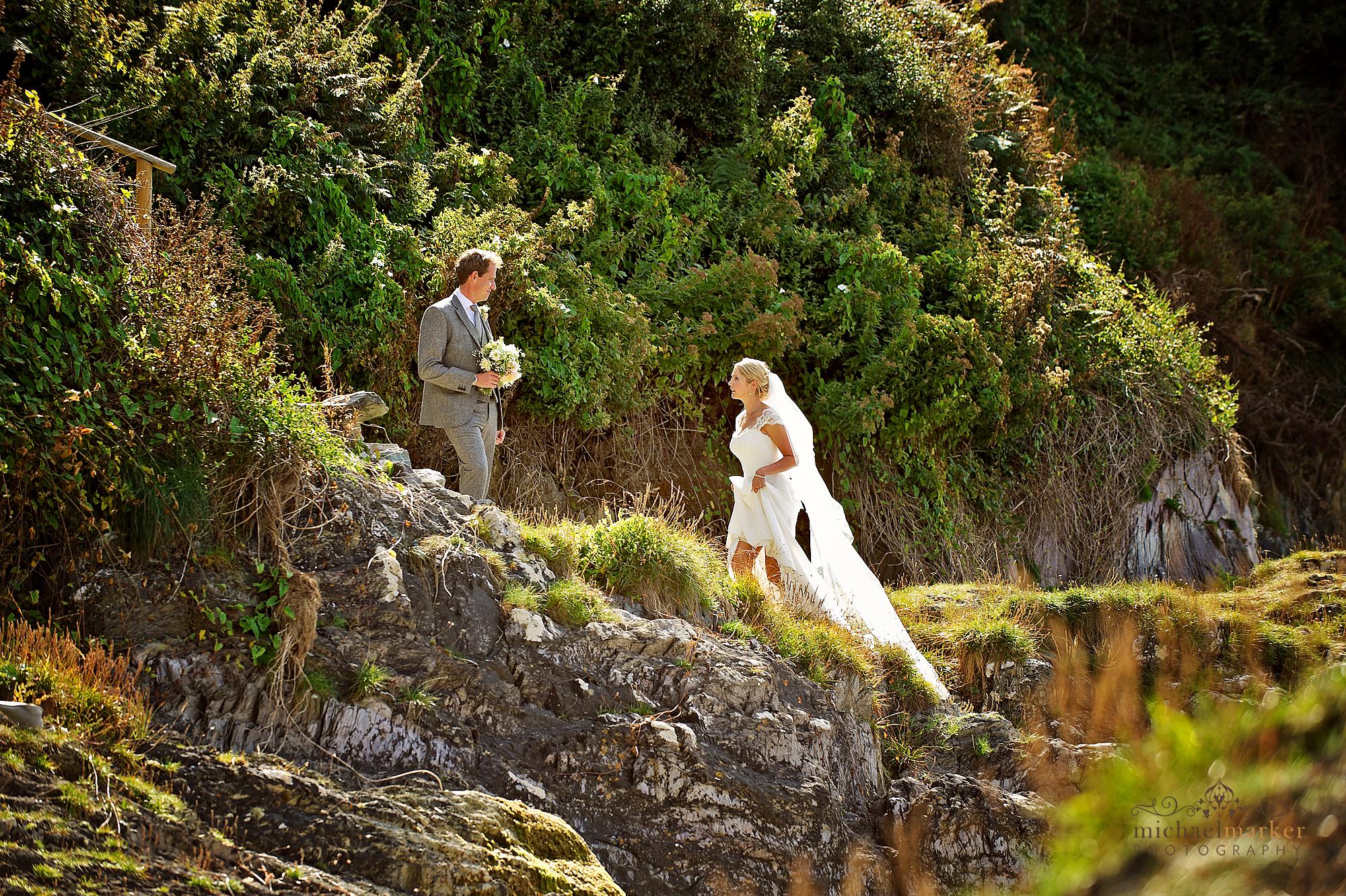 Polhawn-fort-beach-wedding