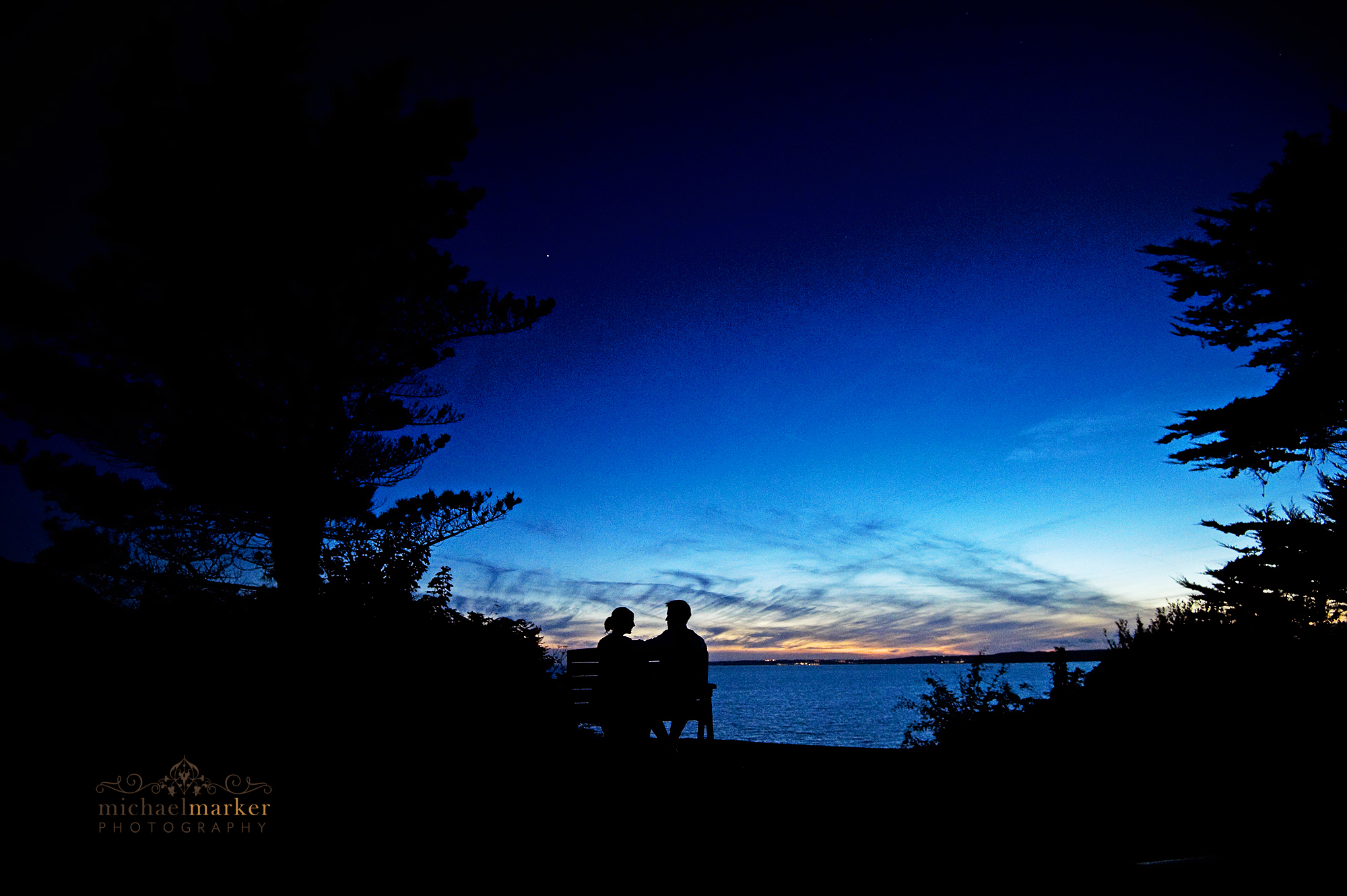 Polhawn-wedding-sunset