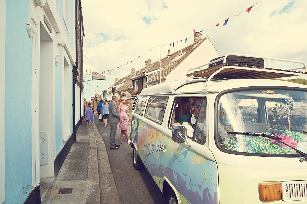 Vintage-campervan-for-Cawsand-wedding