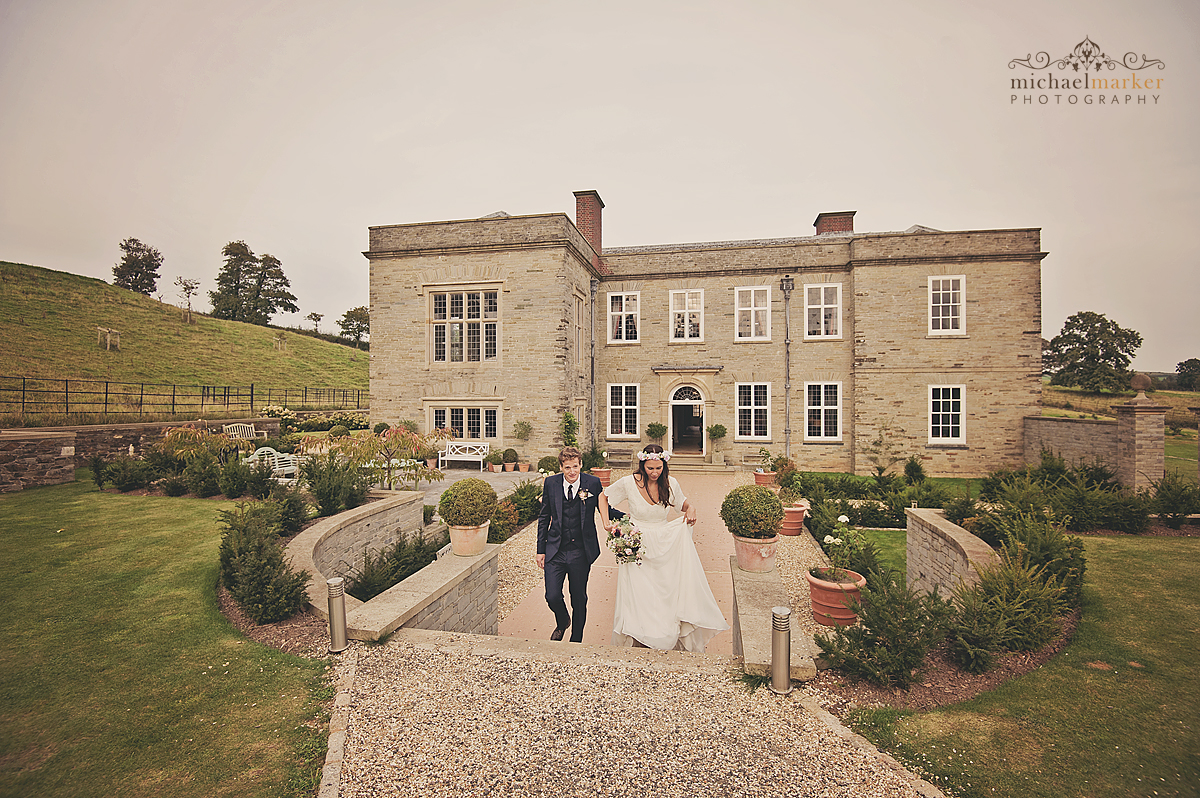 Bridal-couple-at-Shilstone-House