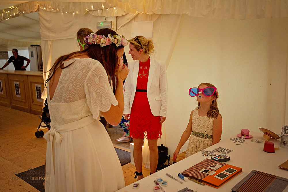 Bride-and-DIY-photobooth