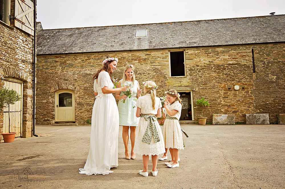 Devon wedding at Shilstone House