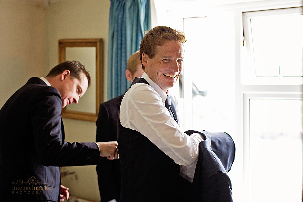Groom-dressing-in-Devon