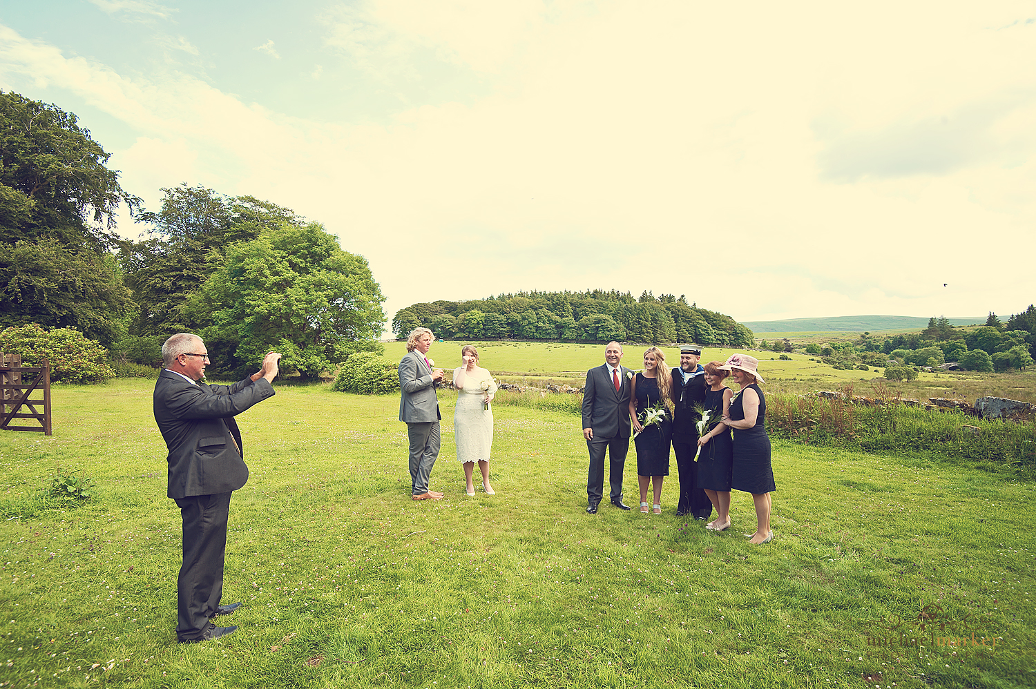 Guests-wedding-photos-at-Prince-Hall-Dartmoor