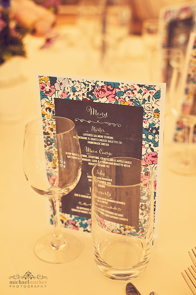 Liberty-pattern-wedding-menu