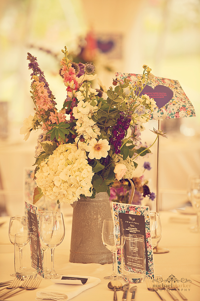 Rustic-country-wedding-table-centre