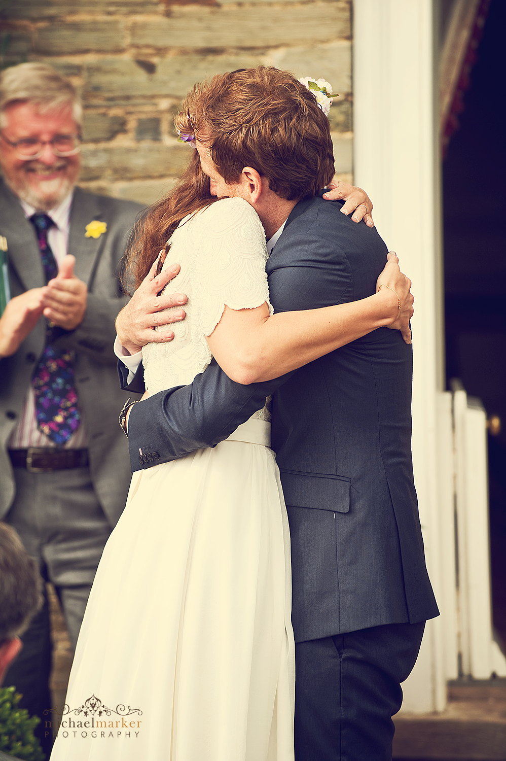 Wedding-embrace-at-Shilstone-Devon