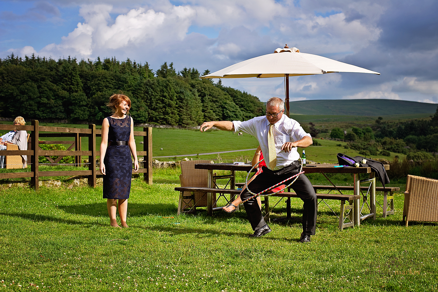 Wedding-recption-fun-on-Dartmoor