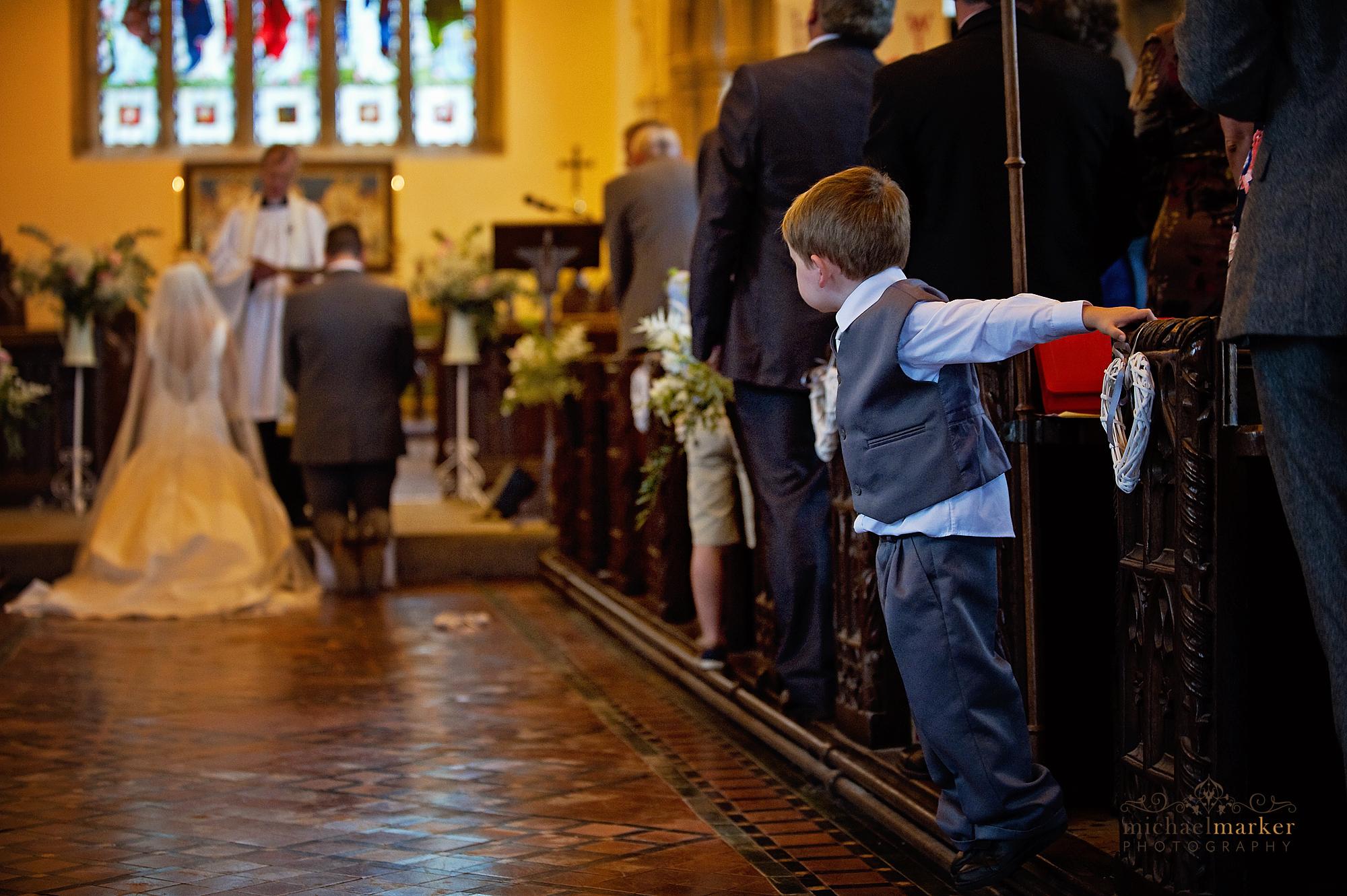 children-at-church-wedding