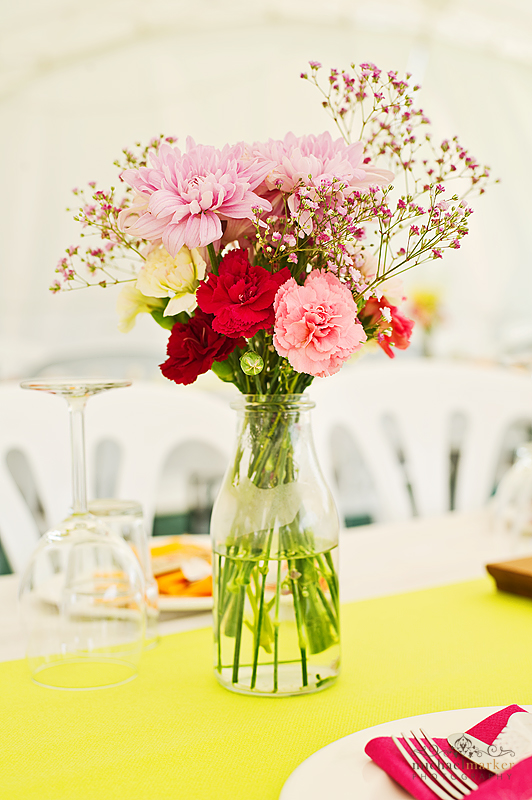 Carnations-wedding-table-centres