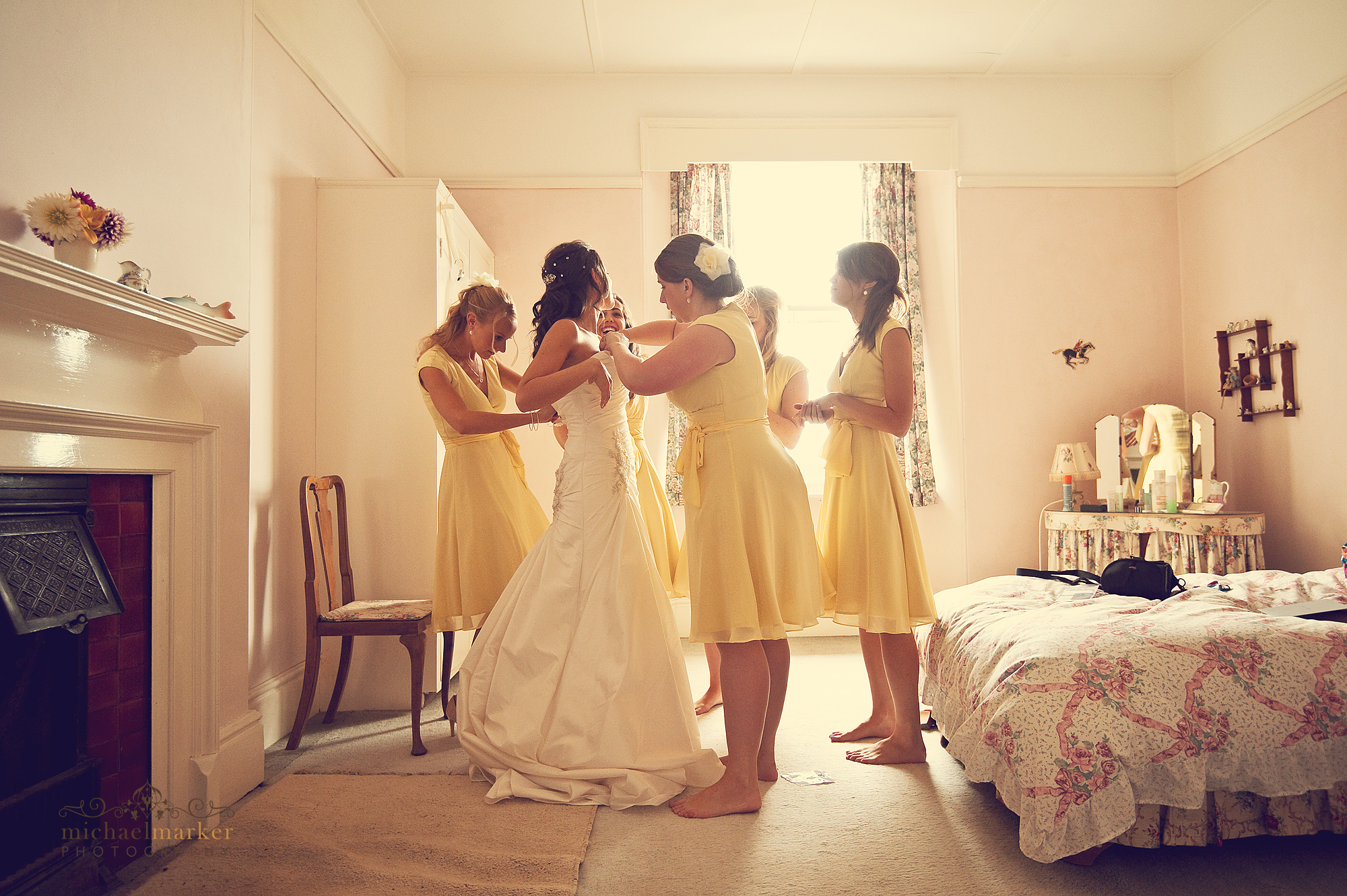 Dressing-the-bride
