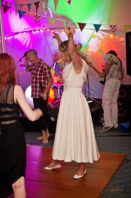 Party-bride-at-Totnes-wedding