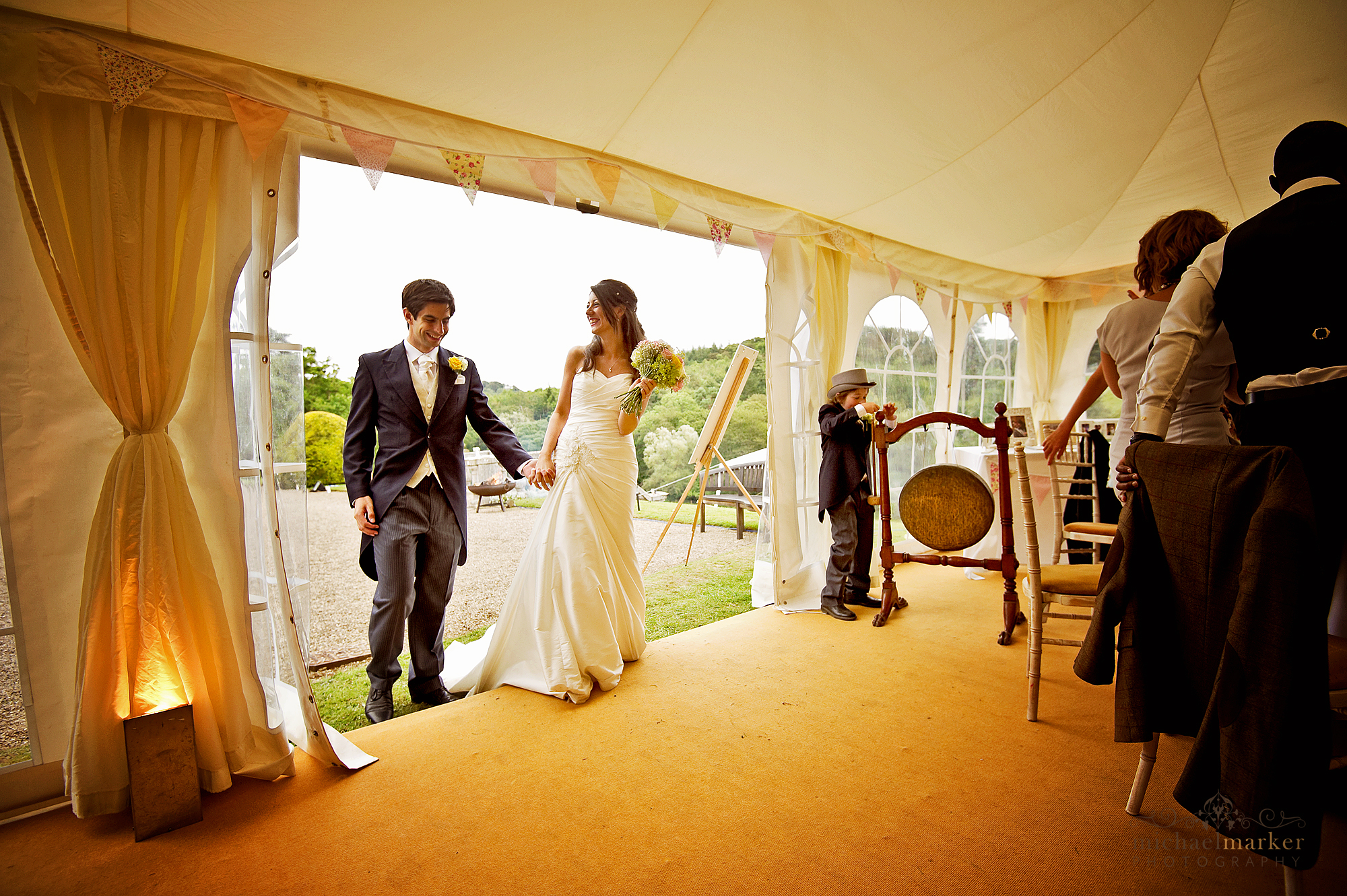 Wedding-marquee-entrance