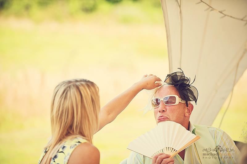 guests-having-fun-at-Devon-summer-wedding