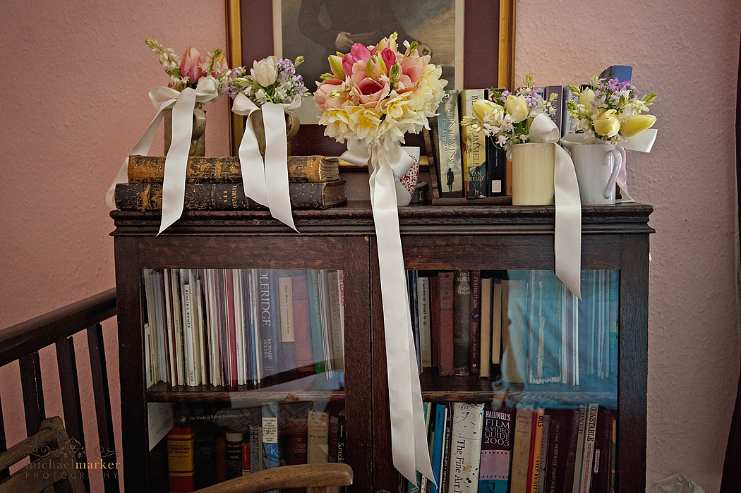 Cottage garden wedding flower  bouquets