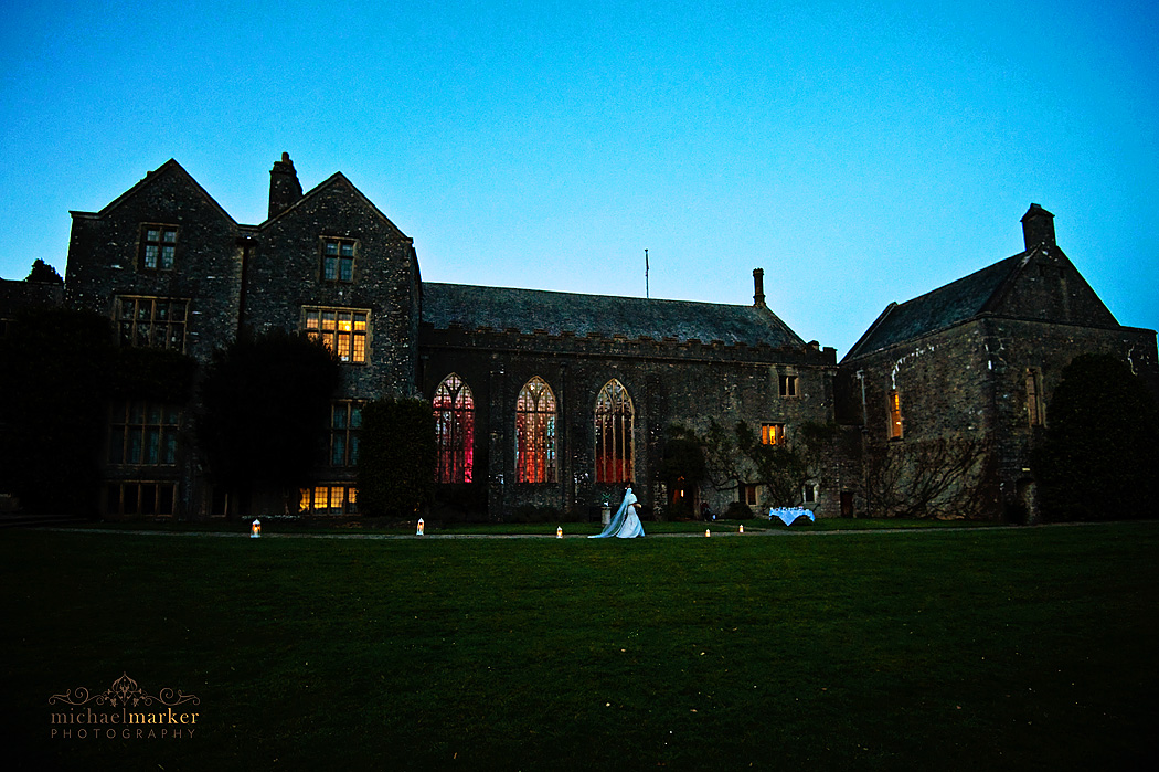 Dartington-wedding-sunset