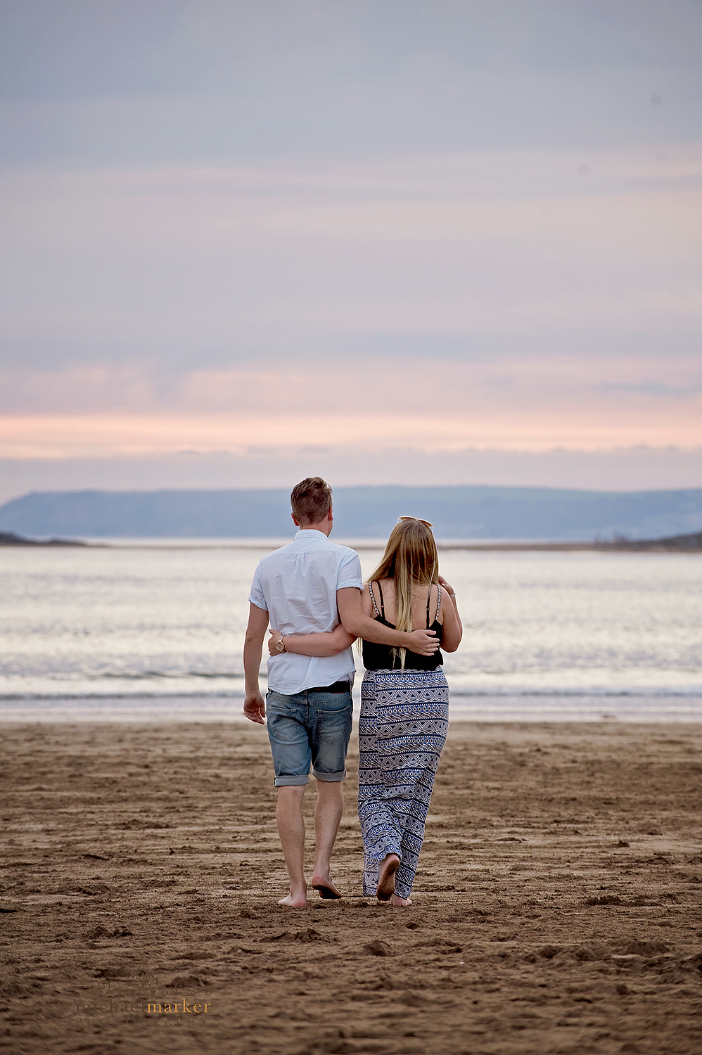 engaged-devon-couple-beach-portraits