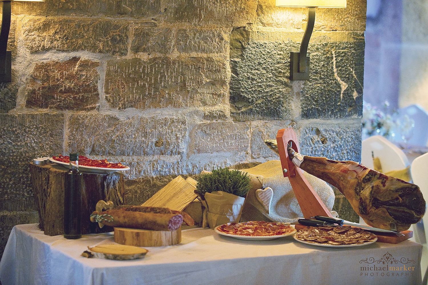 spanish-wedding-tapas-canape-table