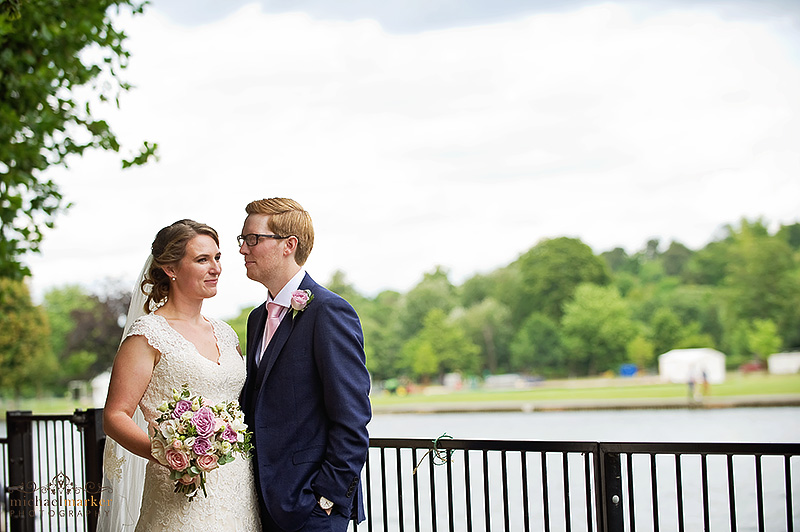 Beautiful bride at Henley-on-Thames wedding
