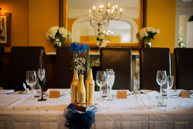 Top Table Harry Potter Wedding Theme Devon Wedding Photography