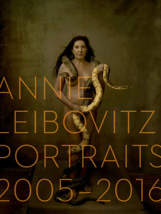 Cover of great book of Annie Leibovitz's Portraits from 2005 to 2016