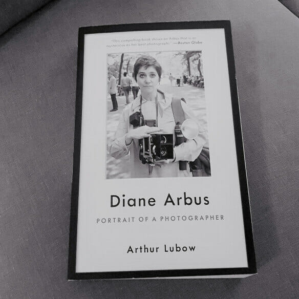 Cover of new biography of photographer Diane Arbus by Arthur Lublow