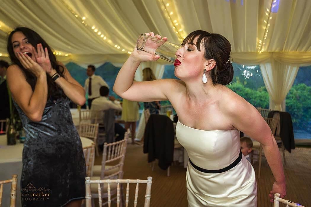 funny-bride-at-Pentillie