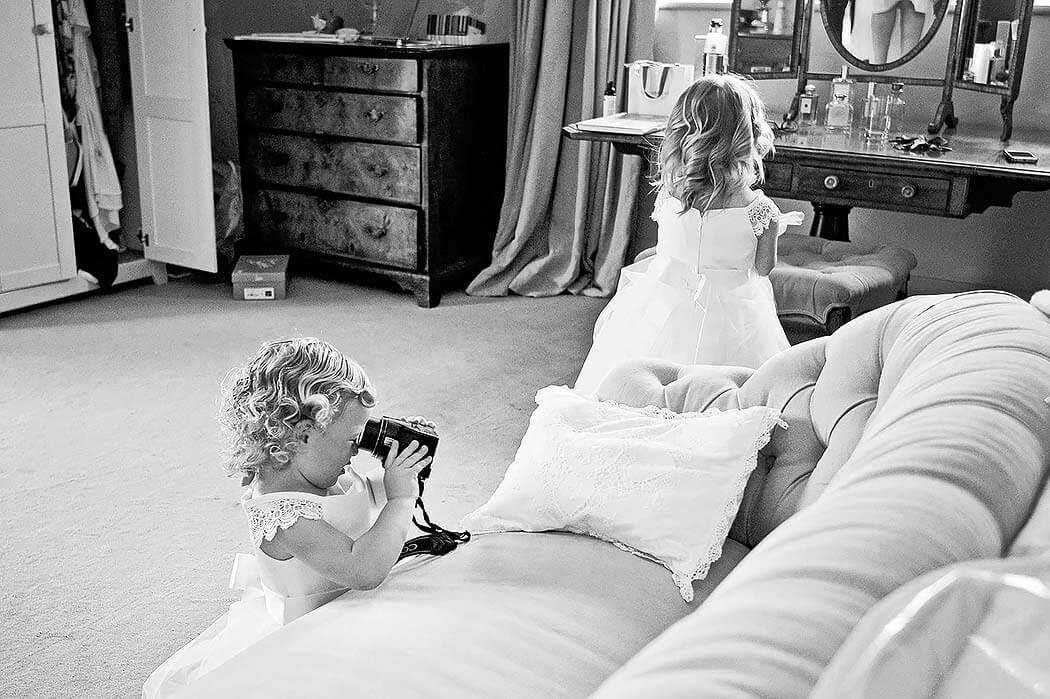 kids being kids at wedding by wedding photographer training specialist Michael Marker